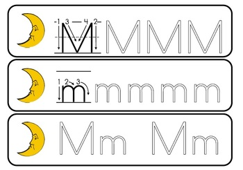 Alphabet Activities Letter Mm