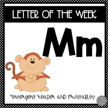 Letter of the Week ❤️ M Emergent Reader and Literacy Materials