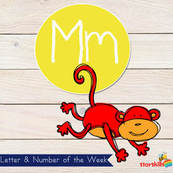 Letter of the Week Mm Workbook