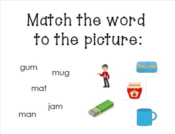 Letter of the Week: Mm for the Smartboard using Reading Wonders