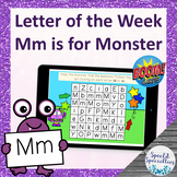 Letter of the Week Mm is for Monster BOOM Cards™ for Dista
