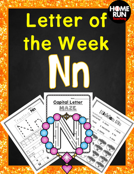 Alphabet Letter of the Week N