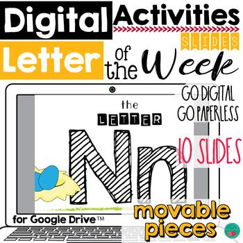 Letter of the Week N DIGITAL