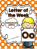 Letter of the Week: O {Distance Learning}