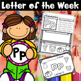 Letter of the Week - P