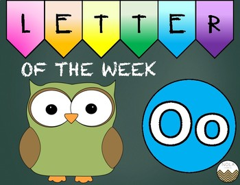 Letter of the Week -O- Activity Pack