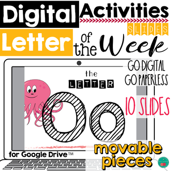 Letter of the Week O DIGITAL