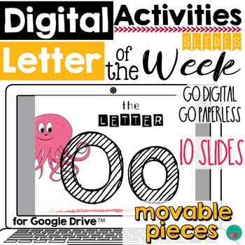 Letter of the Week O DIGITAL