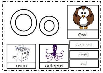 Alphabet Activities Letter Oo