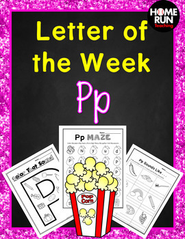 Alphabet Letter of the Week P, RTI