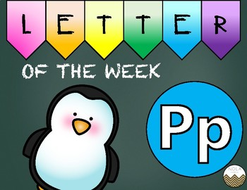 Letter of the Week -P- Activity Pack