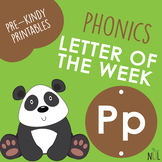 Letter of the Week - P - Phonic activities