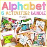 Alphabet Activities BUNDLE #3  | Distance Learning