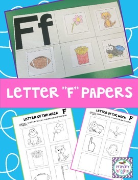 Letter of the Week Picture Cards F