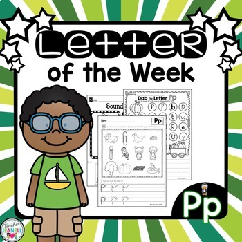 Letter of the Week - Pp