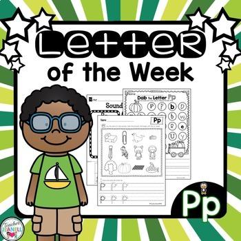 Alphabet Letter of the Week - Pp