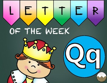 Letter of the Week -Q- Activity Pack