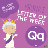 Letter of the Week - Q - Phonic activities