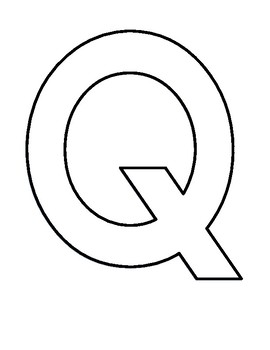 Letter of the Week - Q is for Quack