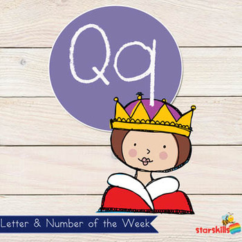 Letter of the Week Qq Workbook