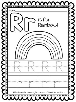 Letter of the Week: R