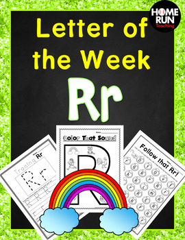 Letter of the Week R