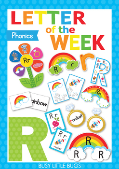 Letter of the Week - R
