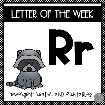 Letter of the Week ❤️ R Emergent Reader and Literacy Materials