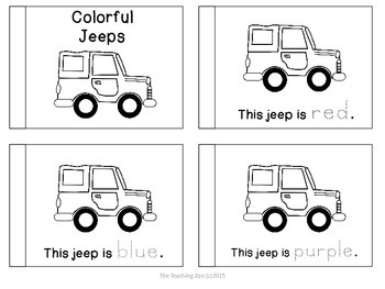 Letter of the Week Readers - J is for Jeep