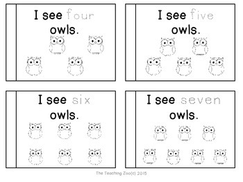 Letter of the Week Readers - O o is for Owl