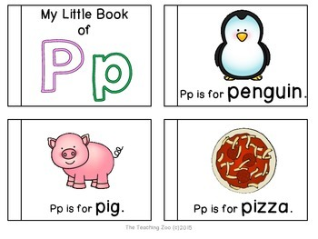 Letter of the Week Readers - P p is for Penguin