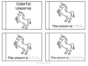 Letter of the Week Readers - U u is for Unicorn