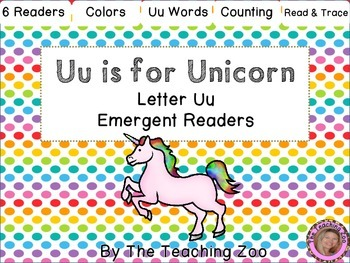Letter of the Week Readers - U u is for Unicorn