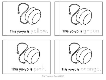 Letter of the Week Readers - Y y is for Yo-Yo