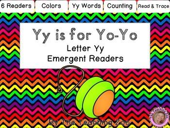 Letter of the Week Readers - Y y is for Yo-Yo