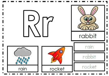 Alphabet Activities Letter Rr