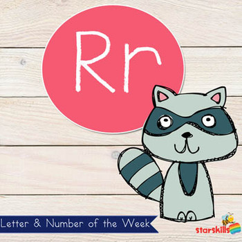 Letter of the Week Rr Workbook