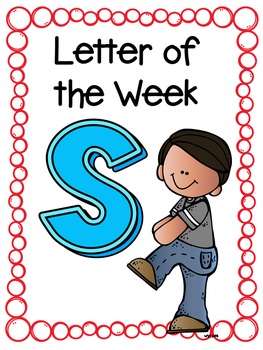Letter of the Week- S