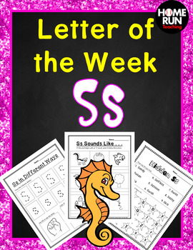 Alphabet Letter of the Week S