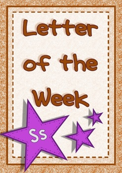 Letter of the Week - Ss