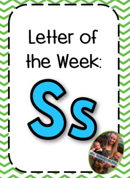Letter of the Week: Ss