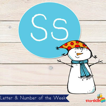 Letter of the Week Ss Workbook