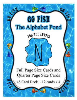 Letter of the Week Supplement for the Letter N ~ Go Fish C