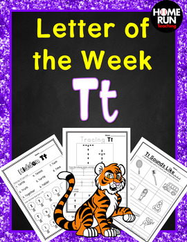 Alphabet Letter of the Week T