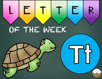 Letter of the Week -T- Activity Pack