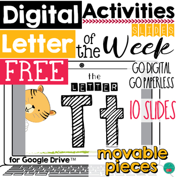 Letter of the Week T DIGITAL