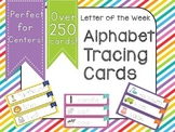 Letter of the Week Tracing Cards