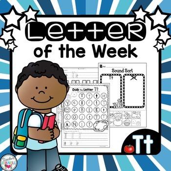 Alphabet Letter of the Week - Tt