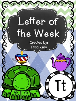 Letter of the Week - Tt