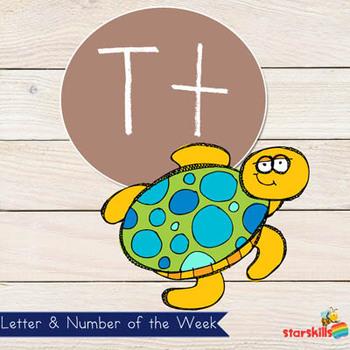 Letter of the Week Tt Workbook